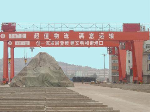 Кран козловой 32 тонны для продажи в Китае