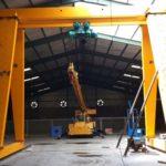 Козловой кран кк-12,5 тонн