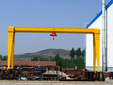 Козловой кран 32 т купить из Китая