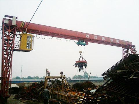 Продать козловой магнитный кран из Китая