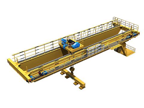 Купить магнитный мостовой кран из Китая