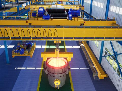 Купить кран мостовой металлургического типа цена