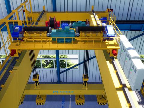 Продам кран мостовой магнитный из Китая