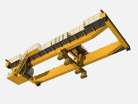 Предоставлять магнитный мостовой кран для продажи