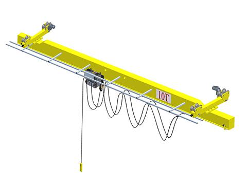 Продам электрический мостовой кран 10т