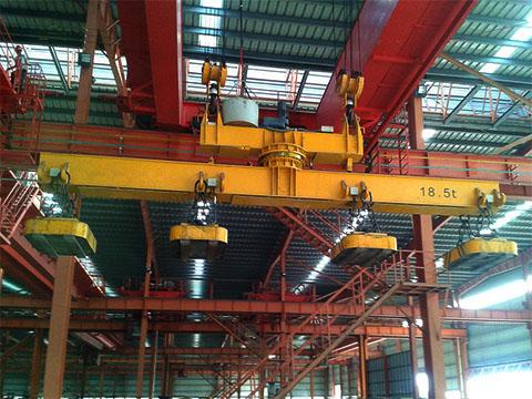 Продам магнитный мостовой кран в Китае