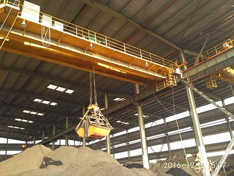 Надежный грейферный мостовой кран купить от производителя кранов