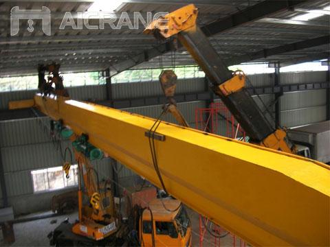Купил однобалочный мостовой кран в Китае