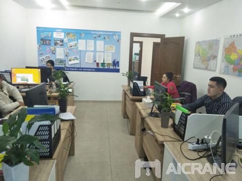 Филиал Узбекистана - продать мостовой и козловой кран цена