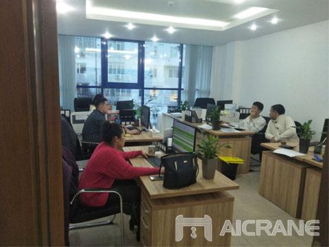 Офис в Узбекистане - купить козловой и мостовой кран цена