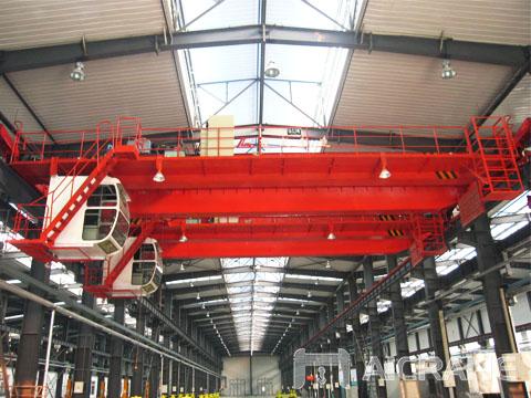 Продам еропейский мостовой кран 60 тонн цена