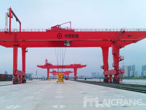 Заказать кран козловой контейнерный цена завода