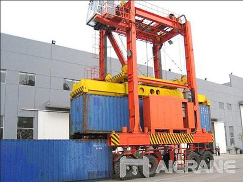 Купить козловой кран для контейнера из Китая