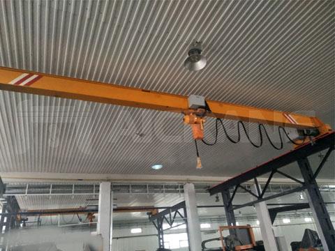 Поставить однобалочный мостовой кран 2 тонн в Узбекистан