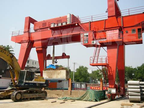Продать козловой кран 75 тонн из Китая