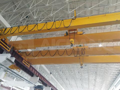 Предоставил двухбалчоный мостовой кран 20 тонн для продаж